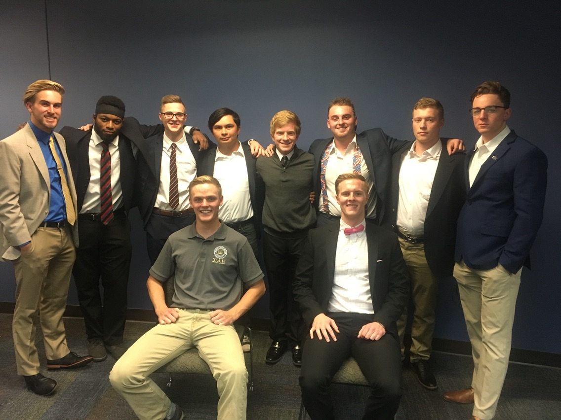 Welcome the 2020 ΣAE Colorado Phi Executive Board!